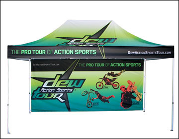 David Seeds Mountain Dew Quaker Right Guard Smoothie King EAS. Screen Print vs Digital Print Custom Canopy Products & Understanding Custom Canopy Printing | Screen vs Digital Print ...